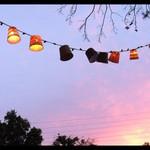 Fringe club at dusk