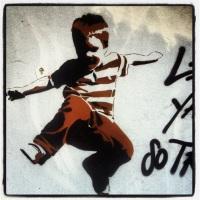 Street art Pulteney Street