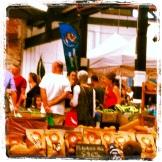 Market shed on Holland