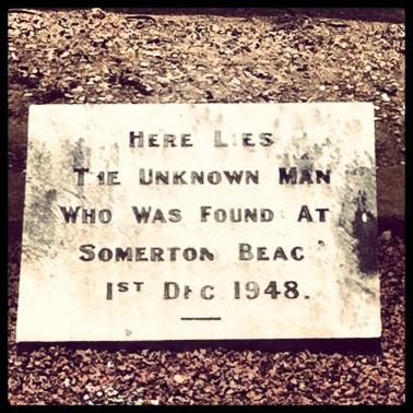 Unknown man: West Terrace Cemetery